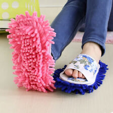 1PC Mop Slipper Floor Polishing Cover Cleaner Dusting Cleaning Lazy Foot Shoe