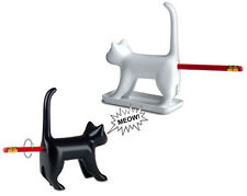Sharp End Pencil Sharpener Bum Meowing Novelty Funny Gadget Gift