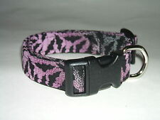HALLOWEEN SPOOKY BATS  DOG COLLAR (YOU PICK THE SIZE)
