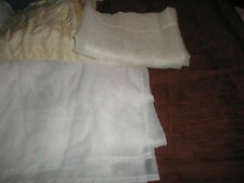 New Window Scarfs, JC Penny's, Domestications, white/wine, cream/beige Window Sc