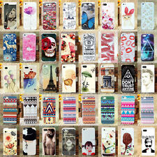 Paint Various Pattern Plastic Hard Back Skin Case Cover for Apple IPhone4 4S