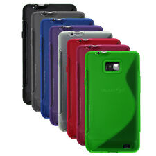 S-Line TPU Rubber Silicone Gel Case Cover for Samsung Galaxy S II / i777 (AT&T)