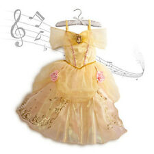 NEW NWT DISNEY STORE PRINCESS BELLE SINGING COSTUME GOWN BEAUTY AND BEAST 2014