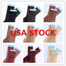 USA STOCK! 24 inch Remy Tape Hair Extension,60g & 20 pieces,3-5 days delivery!