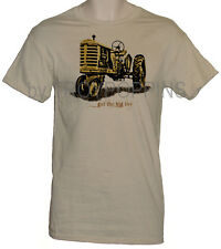GOT THE BIG TOY YELLOW TRACTOR FARMER WORK WEAR GEAR GRAPHIC PRINTED T-SHIRT TEE