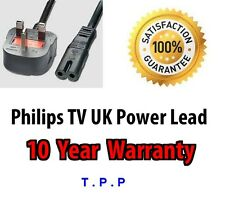 NEW UK Power Lead Cable For Philips TV Television See Ad For Model Numbers