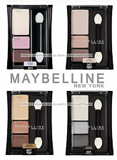 MAYBELLINE* Expert Wear EYESHADOW Trios *YOU CHOOSE* Original Style BLACK CASE
