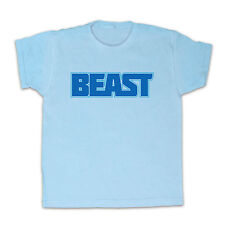 BEAST SLOGAN GYM WORKOUT FITNESS HEALTH KIDS T SHIRT TEE ALL COLOURS & SIZES