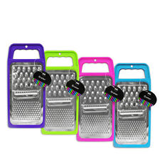 """Brights"" Flat Grater Kitchen Utensil For Grating Cheese & Veg In 4 Colours"