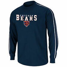 Chicago Bears Long Sleeve T-Shirt Dual Threat V NFL Officially Licenesd Tee