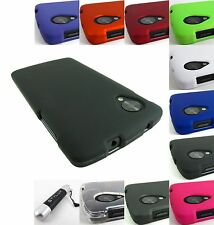 FOR LG GOOGLE NEXUS 5 D820 HARD TWO PART SNAP-ON CASE COVER ACCESSORY+STYLUS/PEN