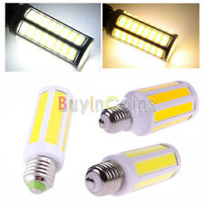 Hi-Power E27 7W/9W/12W COB LED Corn Spot Light AC220V Warm Pure White Safe Pack