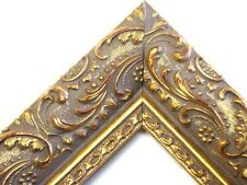 Wide High End Gold Victorian Ornate Picture Frames- Custom Made Standard Sixes