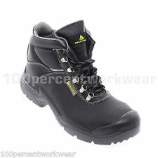 Delta Plus Panoply SAULT Wide Fit Safety Work Boots Shoes Steel Toe Cap Leather