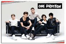 One Direction On Sofa Large Maxi Wall Poster New - Laminated Available