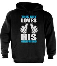 This Guy Loves Girlfriend Couple Matching Hoodie Love Gift Idea MICKEY HANDS