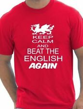 Rugby Wales Welsh  Beat The English 6 Nations World Cup  Mens T-Shirt Size S-XXL