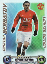 Match Attax Extra 08/09 Ltd Ed, MOTM & Fans Fav Cards Pick Your Own From List