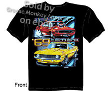 Chevy Shirt Camaro Shirt Chevrolet Clothing Camaro T Shirt Muscle Car Tee 1969