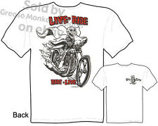Ratfink T Shirts Big Daddy Clothing Ed Roth T Shirts Live To Ride Chopper Tee