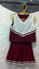 University of Alabama Crimson Red Cheerleading Outfit Alabama Red - Roll Tide