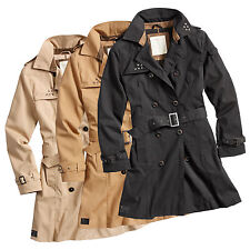 Surplus Ladies Trench Coat Coat Jacket Trenchcoat PEA Coat Parka Raincoat Blazer