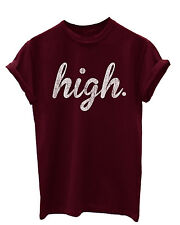 High Hipster T-Shirt for Men/Women Girls Geek wasted youth swag Ladies Sale
