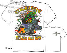 Ratfink T Shirts Hot Rod Clothes Big Daddy Clothing Ed Roth Tee Old Rat Finks