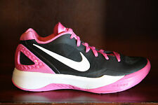 New! Womens NIKE VOLLEY ZOOM HYPERSPIKE FLYWIRE Volleyball Shoes BLACK/PINK