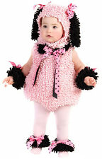 Pinkie Poodle Pink Puppy Dog Fancy Dress Halloween Deluxe Toddler Child Costume