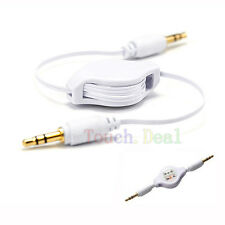 """CAR 3.5mm JACK AUX CABLE STEREO ADAPTER for PC Tablet Ebook Reader 8"""" 8in new UK"""
