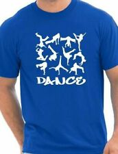 Dance  Street Dance  Adult Mens  T-Shirt Birthday Gift Idea Size S-XXL