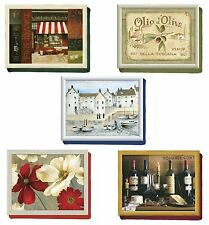 Creative Tops TV Dinner Laptop Lap Tray Laptray Cornish Wine Olive Flower Cafe