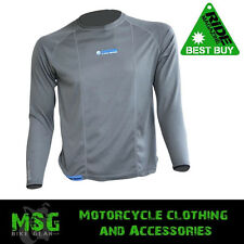 Oxford Motorcycle Motorbike Base Layers Cool Dry Long Sleeve Men's Top