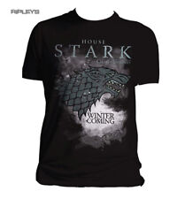 Official T Shirt GAME OF THRONES Winter HOUSE STARK Black All Sizes