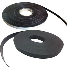 Premium Self Adhesive Flexible Magnetic Tape Craft Magnet Strip 12MM or 25MM