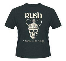 Official T Shirt RUSH Marble Grey FAREWELL TO KINGS Stencil