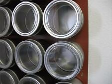 4 oz Applause™ - Set of 24 - Spice Tins only or add Magnetic Spice Rack Options