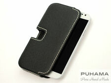 PUHAMA HB20 Hand-Stitched Custom Made Leather case for Samsung Galaxy S7edge