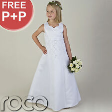 Girls White Communion Dresses, Bridesmaid Dresses, Prom Dresses, Girls Dresses