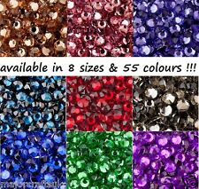 2mm ss6 Flat Back Round Resin Rhinestones, Wholesale Craft Beads (Not Acrylic)