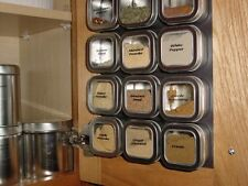 4 oz Bravada™ - Set of 12 - Spice Tins only or add Magnetic Spice Rack Options