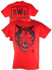nWo Red Wolfpack New World Order Wolfpac Mens T-shirt