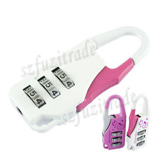 Traveller Luggage Suitcase Baggage Combination Passcode Secruity Padlock Locker
