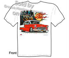 Chevy Shirt Chevrolet Clothing Hot Rod T Shirts Classic Car Shirt 1955 Bel Air