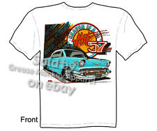 Chevy Shirt Chevrolet Clothing Automotive Shirts Classic Car Shirt 1957 Bel Air