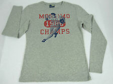 Genuine Mossimo Children / Boys Youth Gridiron L/S T Shirt 8 10 12 14 16 Grey