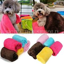 Polar Fleece Perro Gato Pet Mascota Manta Toalla Fleece Cama Soft Mat Cubierta