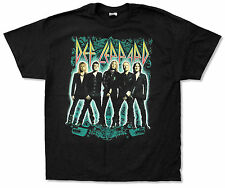 "DEF LEPPARD ""STANCE TOUR 2012"" BLACK T-SHIRT NEW OFFICIAL ADULT"