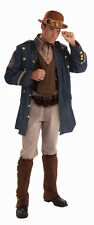 Steampunk General Victorian Military Man Fancy Dress Up Halloween Adult Costume